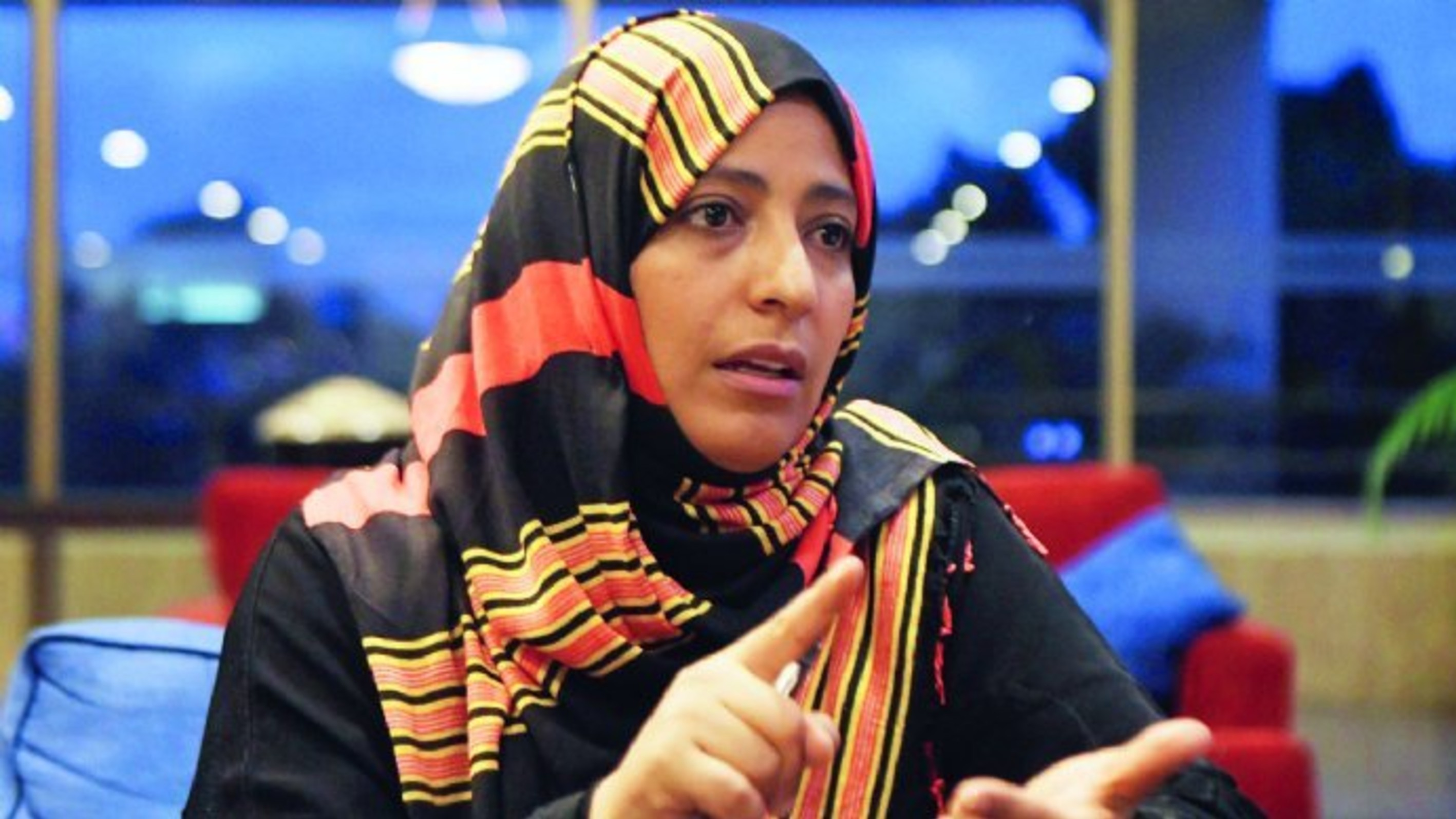 Interview with Mrs.Tawakkol Karman with Global Thinkers Forum