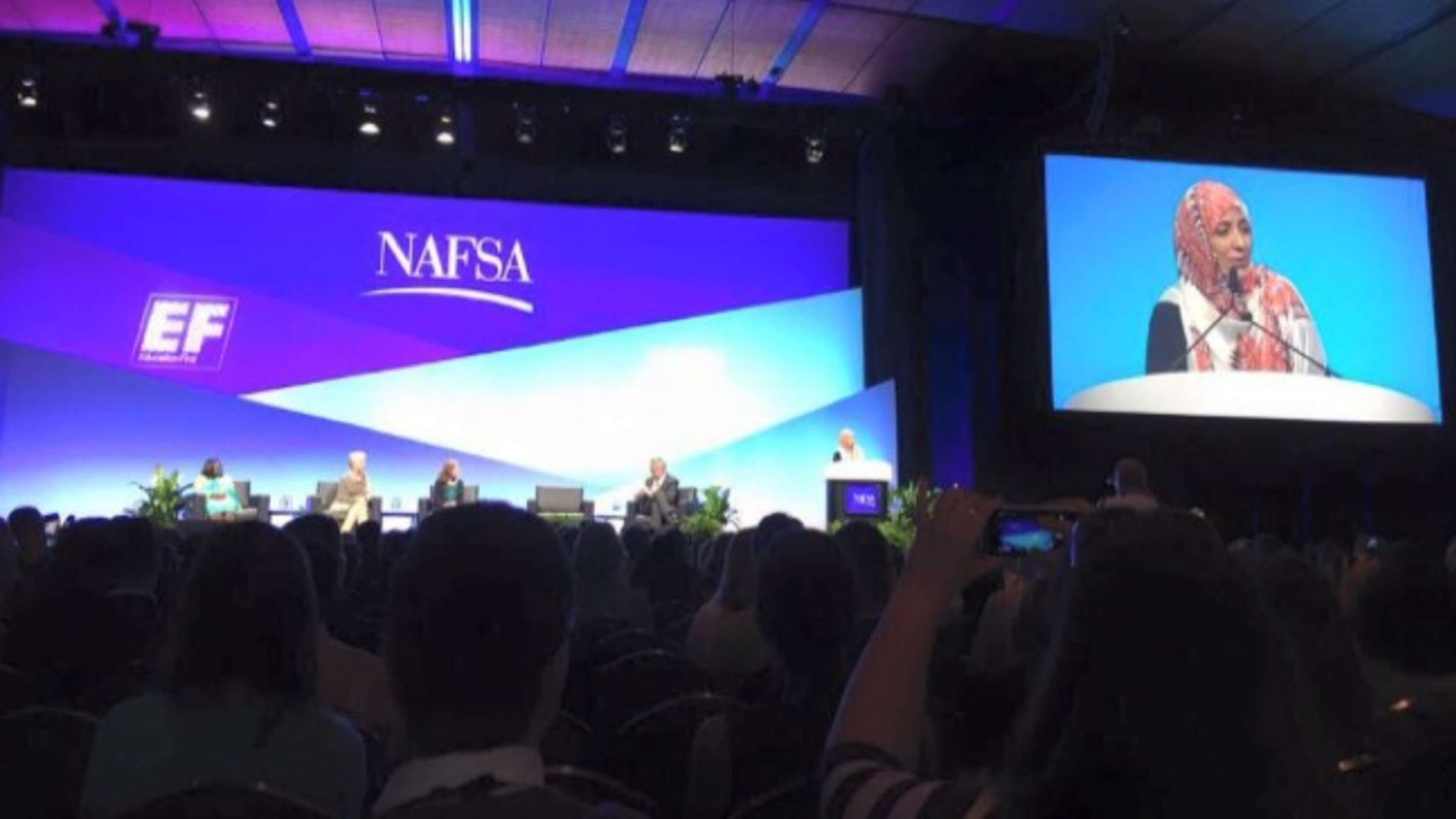 Tawakkol Karman to Speach at NAFSA 2015 International Education Conference in Boston