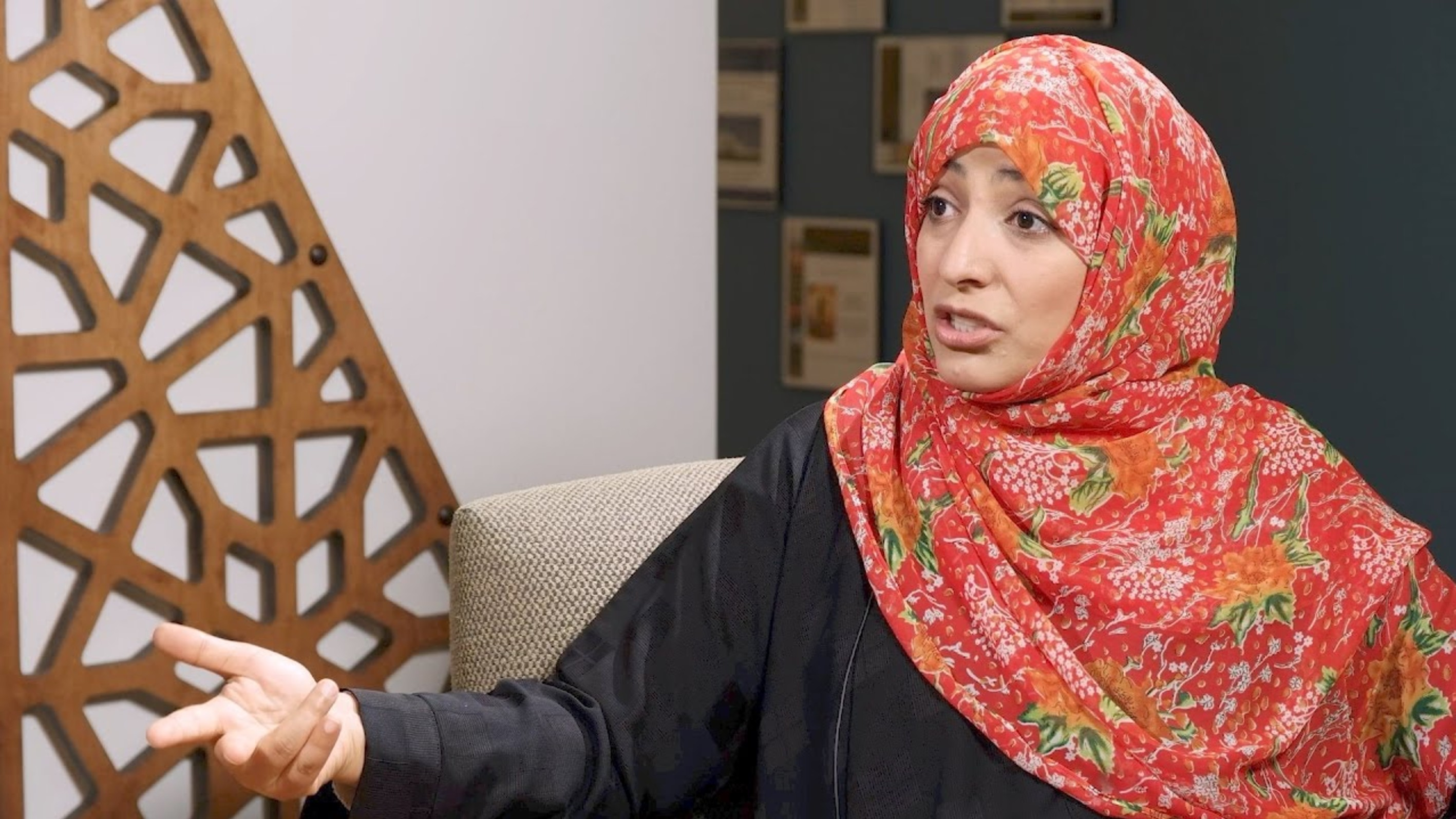 Tawakkol Karman wonders who persecuted males so that they should have International Day